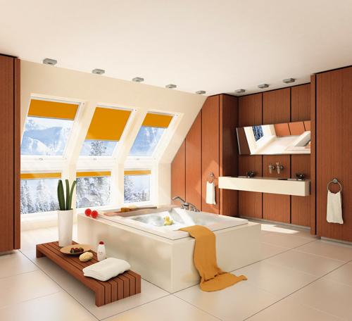Sala De Tv No Sotao ~  para sótão, janelas para telhados e clarabóias para alçapão