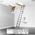 Escada de Sótão de Metal Fakro - LMK