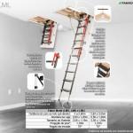 Escada de Sótão de Metal Fakro - LML