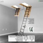 Escada de Sótão de Metal Fakro - LMS