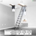 Escada de Sótão de Metal Fakro - LST