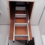 Escada de sótão de alumínio - Alulev