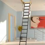 Escadas para Alçapão de Metal