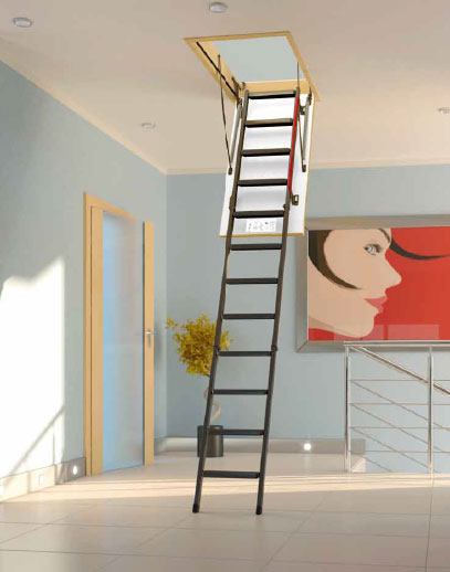 Escadas para sótão em madeira - Escadup